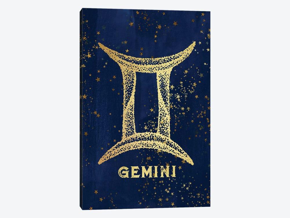 Gemini Zodiac Sign by Nature Magick 1-piece Canvas Artwork