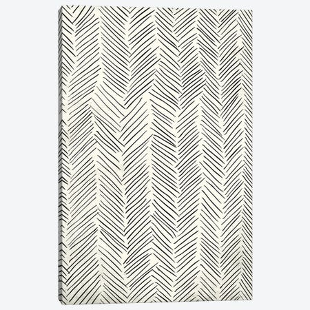 Herringbone Tribal Canvas Print #MGK61} by Nature Magick Canvas Art