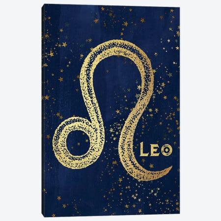 Leo Zodiac Sign Canvas Print #MGK65} by Nature Magick Canvas Art Print