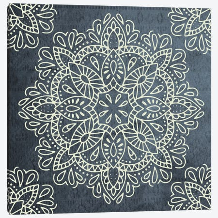 Mandala Antique Lace I Canvas Print #MGK68} by Nature Magick Canvas Wall Art