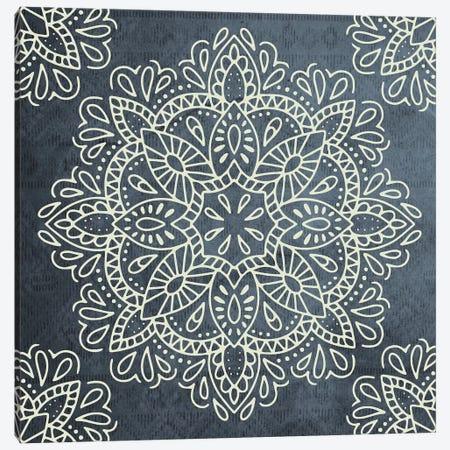 Mandala Antique Lace I Canvas Print #MGK68} by Nature Magick Canvas Wall Art