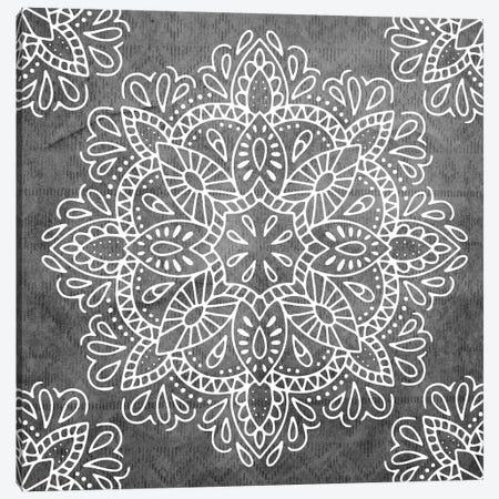 Mandala Antique Lace II Canvas Print #MGK69} by Nature Magick Canvas Wall Art