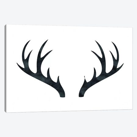 Antlers 3-Piece Canvas #MGK6} by Nature Magick Canvas Art Print