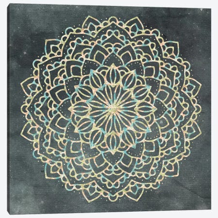 Mandala Bohemian II Canvas Print #MGK71} by Nature Magick Canvas Print