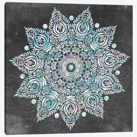Mandala Mermaid Dreams II Canvas Print #MGK76} by Nature Magick Canvas Wall Art