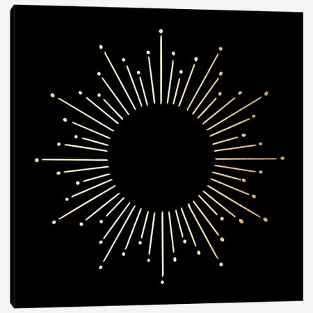 Sunburst Mandala Canvas Print #MGK77} by Nature Magick Canvas Art