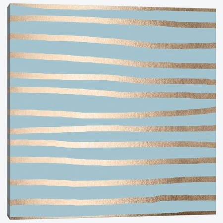 Modern Abstract Stripes Canvas Print #MGK80} by Nature Magick Canvas Art