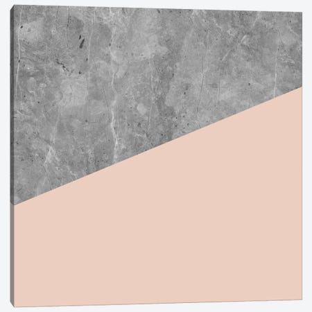 Modern Geometric Concrete Canvas Print #MGK81} by Nature Magick Canvas Wall Art
