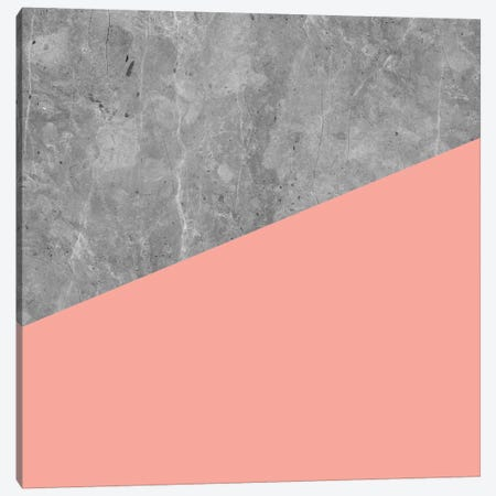 Modern Geometric Concrete II Canvas Print #MGK82} by Nature Magick Canvas Artwork