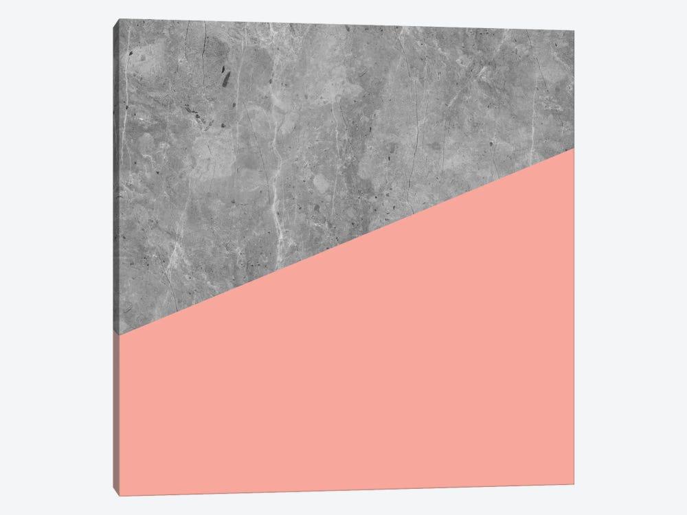 Modern Geometric Concrete II by Nature Magick 1-piece Canvas Wall Art
