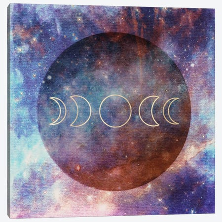 Moon Phases Canvas Print #MGK87} by Nature Magick Canvas Print