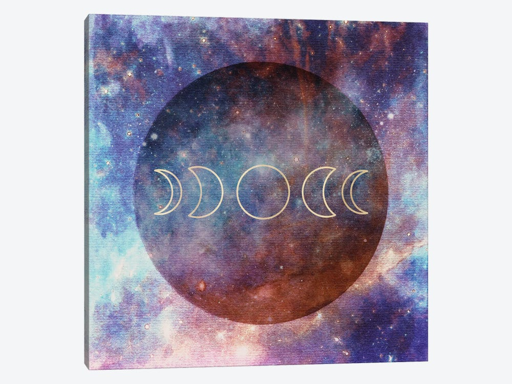 Moon Phases by Nature Magick 1-piece Canvas Print