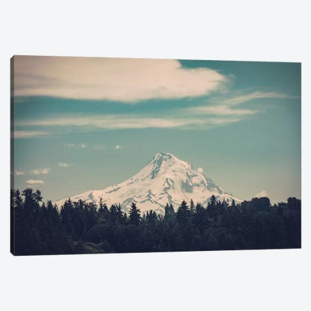Mountain Forest Adventure Mt. Hood Oregon Canvas Print #MGK88} by Nature Magick Canvas Art
