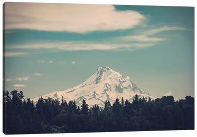 Mountain Forest Adventure Mt. Hood Oregon Canvas Art Print