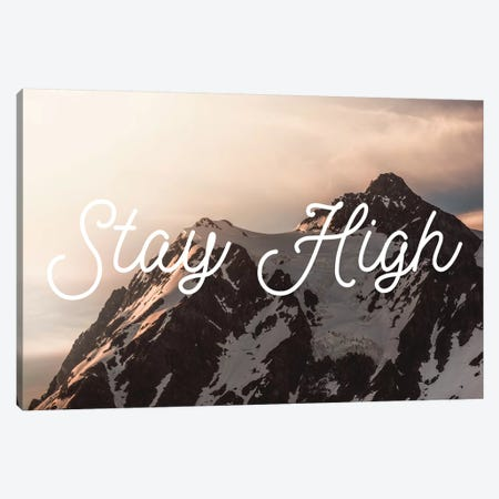 Mt. Shuksan Sunrise Stay High 3-Piece Canvas #MGK93} by Nature Magick Canvas Print
