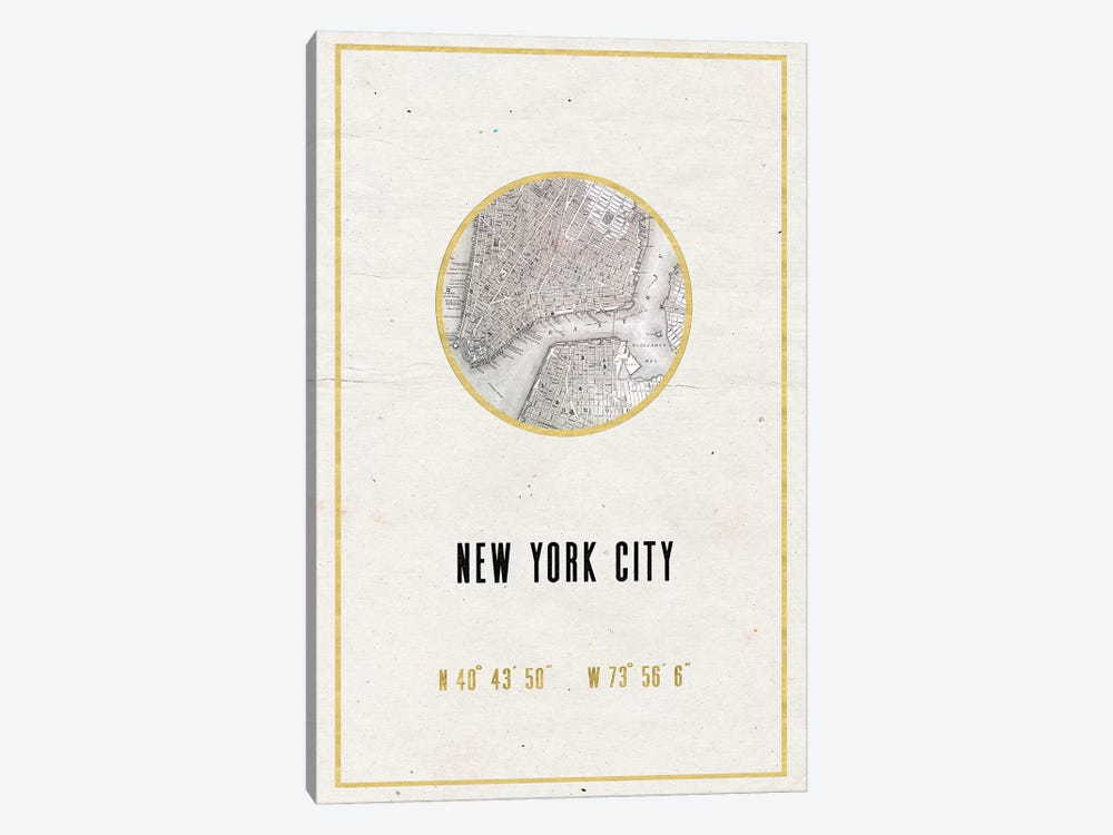 NYC, New York by Nature Magick 1-piece Canvas Art