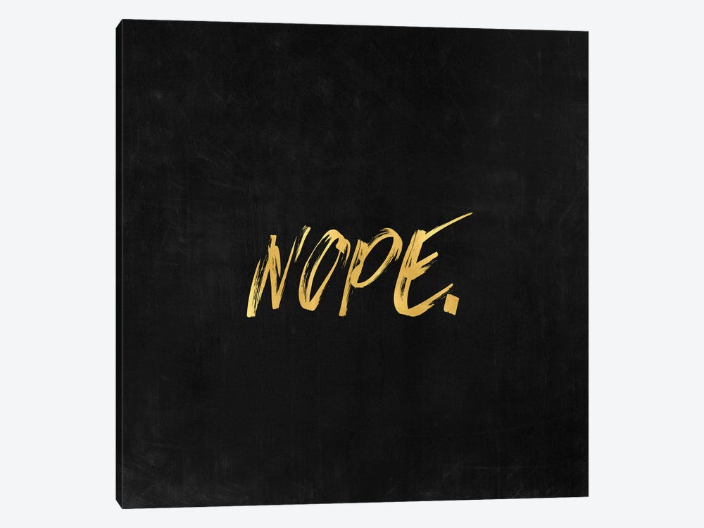 Nope by Nature Magick 1-piece Canvas Art Print