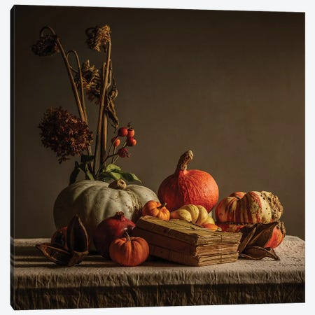 Still Life Canvas Print #MGM23} by Mark Gemmell Canvas Wall Art