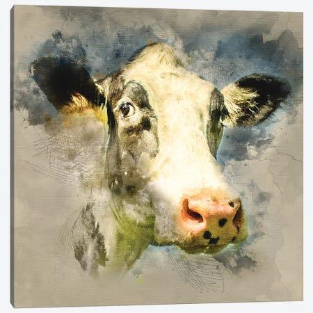 Fresian II Canvas Print #MGM9} by Mark Gemmell Canvas Wall Art