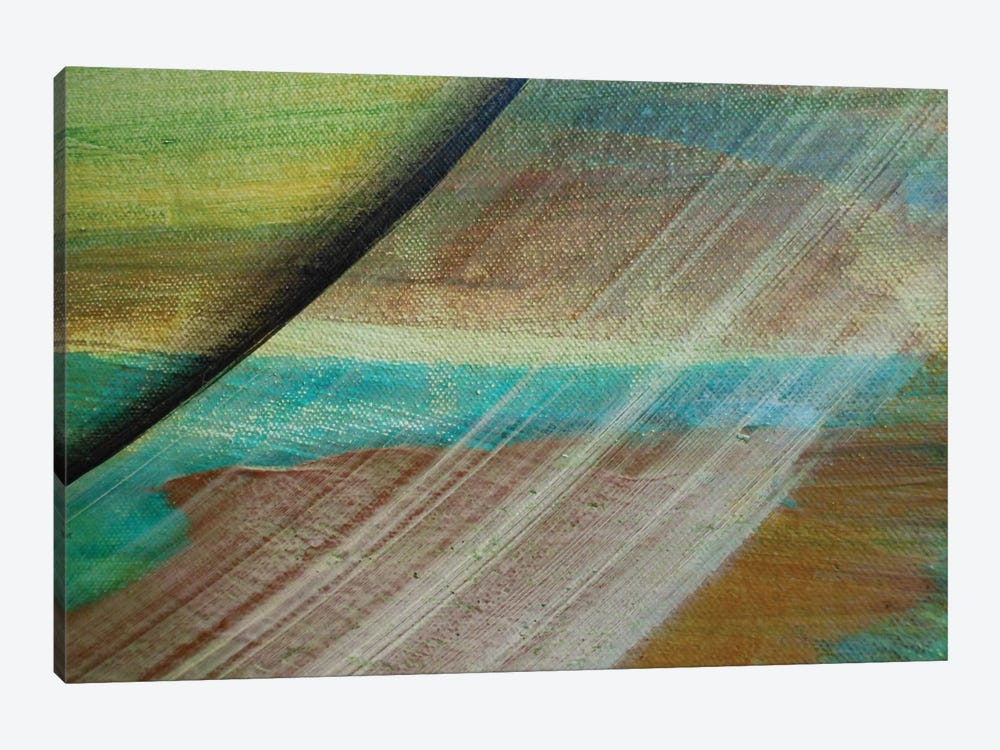 Sliding Away by Michael Goldzweig 1-piece Canvas Artwork