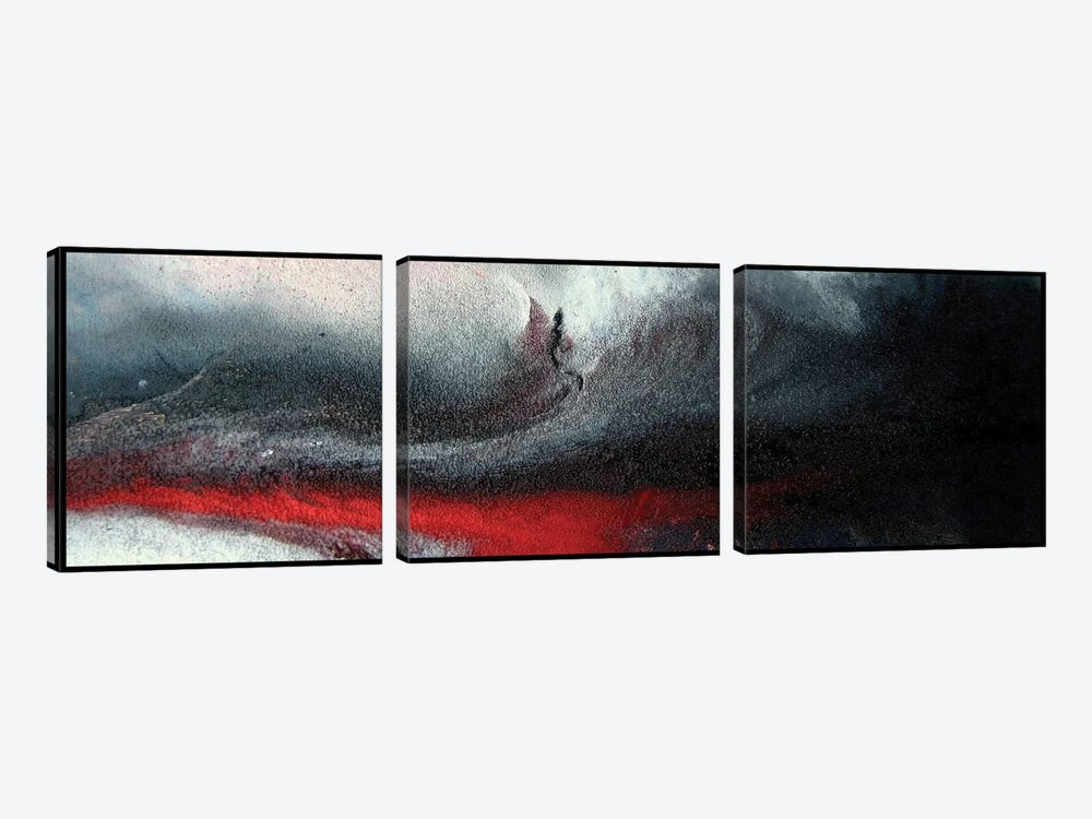 Winter Storm by Michael Goldzweig 3-piece Canvas Artwork