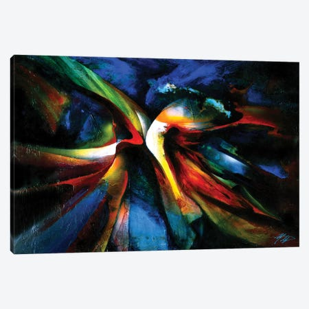 Awakening I Canvas Print #MGO33} by Michael Goldzweig Art Print