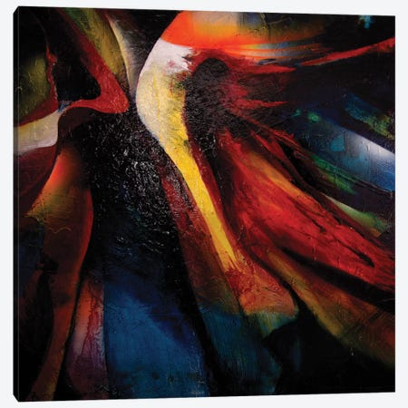 Awakening Detail Canvas Print #MGO35} by Michael Goldzweig Canvas Artwork