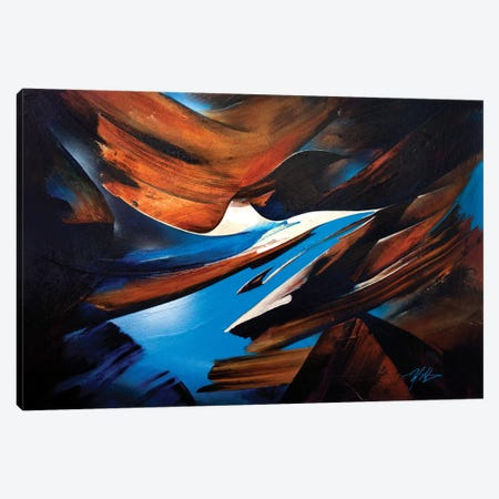 Breakthrough Canvas Print #MGO36} by Michael Goldzweig Canvas Artwork