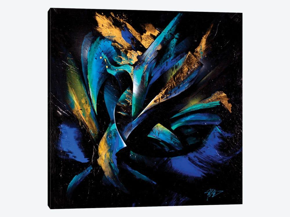 Northern Lights by Michael Goldzweig 1-piece Canvas Artwork