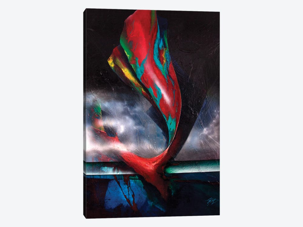 The Whale by Michael Goldzweig 1-piece Canvas Wall Art