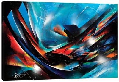 The Color Wind Canvas Art Print