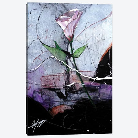 Dancing Flower Canvas Print #MGO53} by Michael Goldzweig Canvas Art Print