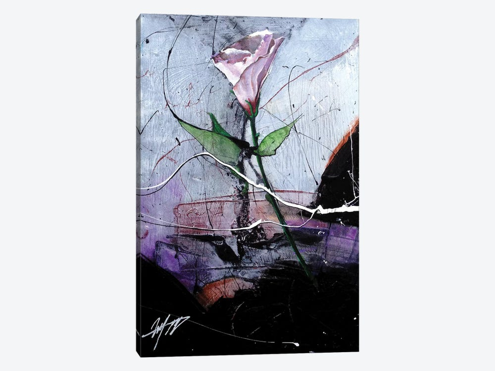 Dancing Flower by Michael Goldzweig 1-piece Canvas Print