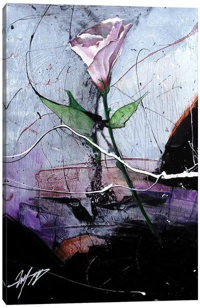 Dancing Flower Canvas Art Print