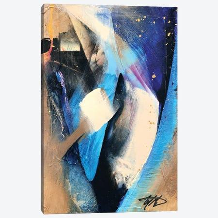 Rhapsody Blue Canvas Print #MGO59} by Michael Goldzweig Canvas Art Print