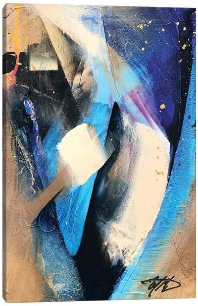 Rhapsody Blue Canvas Art Print