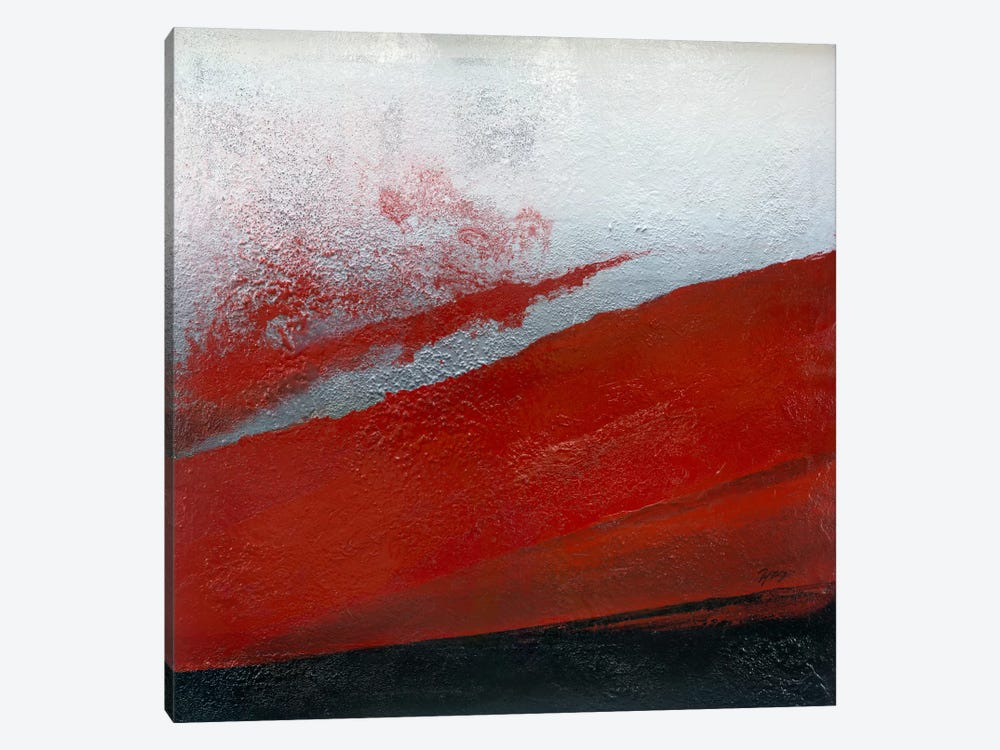 Shades Of Red 1-piece Canvas Art Print