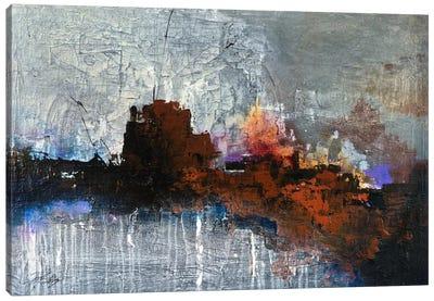 Temperature Rising Canvas Art Print