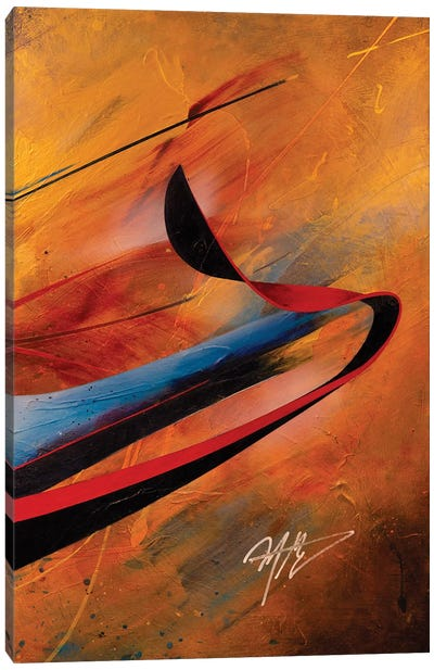 Whirling Dervish III Canvas Art Print