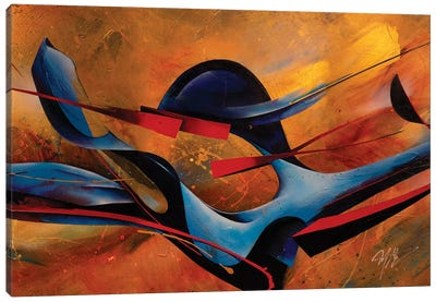 Whirling Dervish Full Canvas Art Print