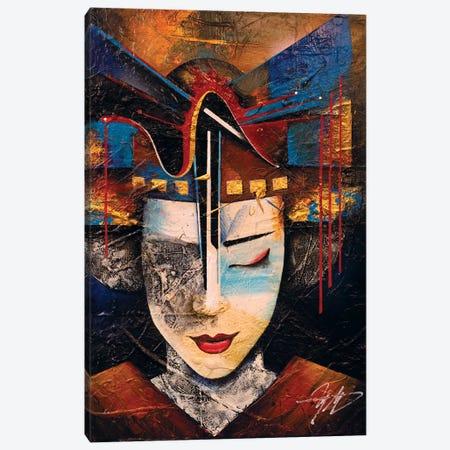 Memories Of A Geisha Canvas Print #MGO80} by Michael Goldzweig Canvas Wall Art
