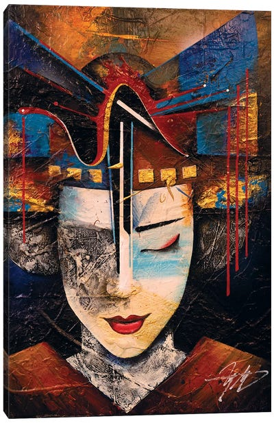 Memories Of A Geisha Canvas Art Print