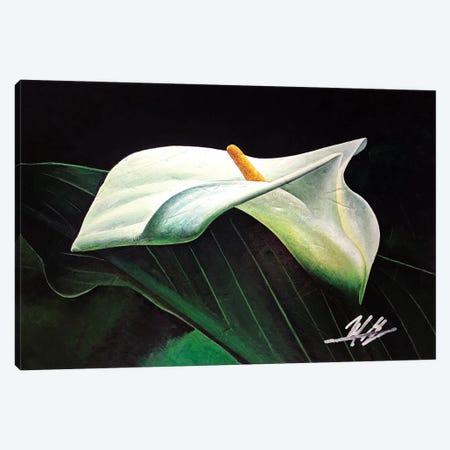 Lily Canvas Print #MGO88} by Michael Goldzweig Canvas Wall Art