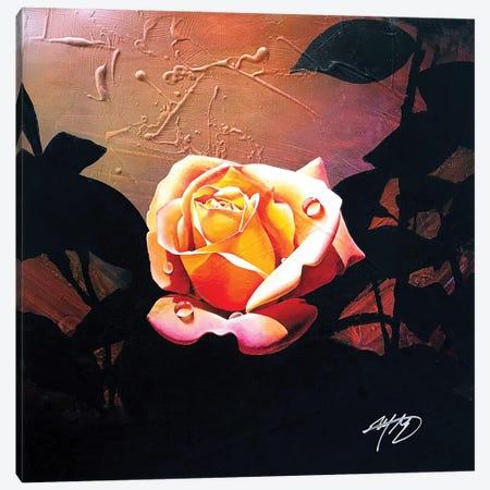 Summer Rose Canvas Print #MGO89} by Michael Goldzweig Canvas Artwork