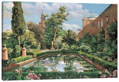 A Spanish Afternoon Canvas Art Print
