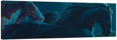 Nite Horses Canvas Art Print