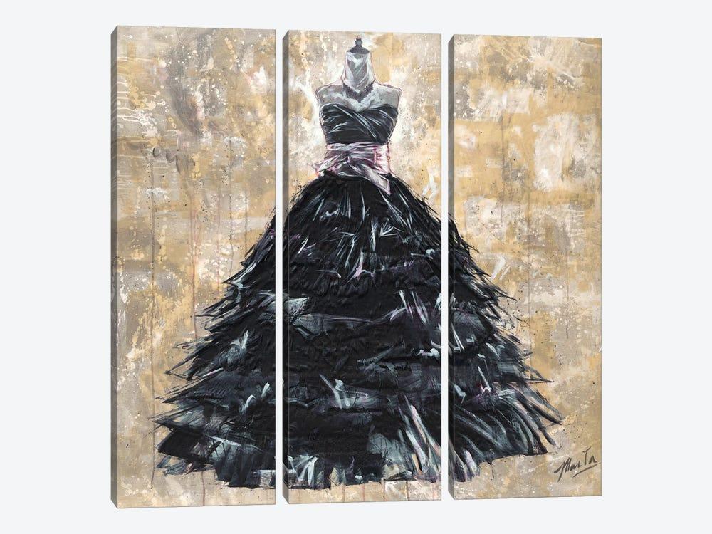Gala I by Marta G. Wiley 3-piece Canvas Wall Art