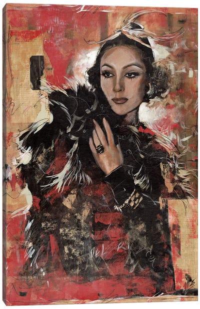 Vintage Goddess I Canvas Art Print