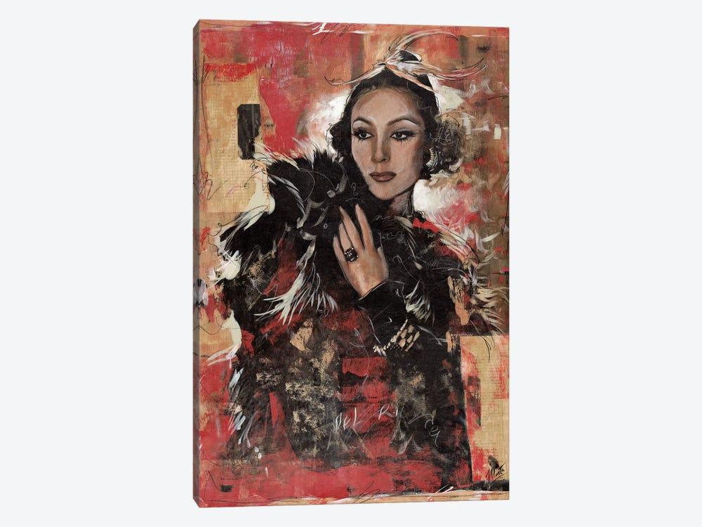 Vintage Goddess I by Marta G. Wiley 1-piece Canvas Wall Art