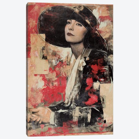 Vintage Goddess II Canvas Print #MGW5} by Marta G. Wiley Canvas Art